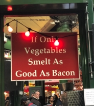 Even our friends at Borough Market in London appreciate the true essence of bacon,